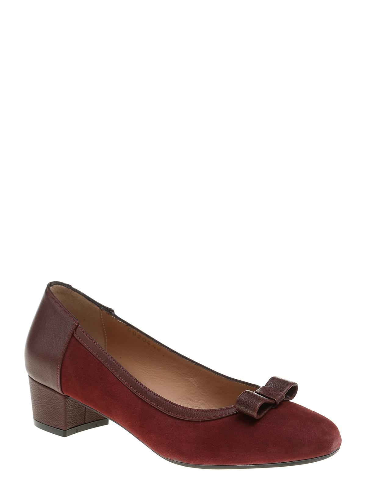 Kadın Divarese Alçak Topuklu Klasik Ayakkabı